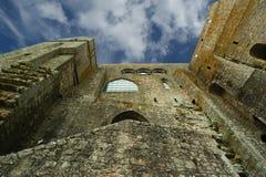 Mont Saint-Michel Normandie, Frankrike Royaltyfria Foton