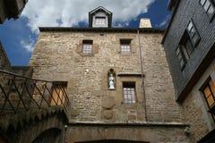 Mont Saint-Michel Normandie, Frankrike Royaltyfri Bild