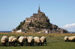 Mont-Saint-Michel, Normandy Stock Photos