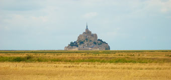 Mont saint michel normandy Royalty Free Stock Photography