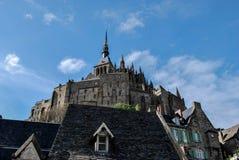 Mont Saint-Michel`. Mont Saint-Michel, Normandy, France Stock Image