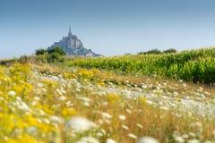 Mont saint Michel stock image