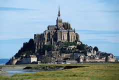 The mont Saint-michel in Normandy, France Stock Image