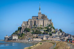 Mont saint Michel - Normandy - France Royalty Free Stock Images