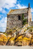 Mont saint Michel - Normandy - France Stock Photo