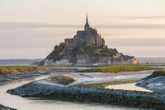 Mont Saint Michel Royalty Free Stock Photos