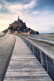 Mont saint Michel in Normandy, France Stock Photography
