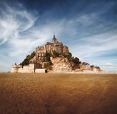 Mont saint Michel in Normandy, France Royalty Free Stock Photo