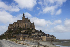 Mont Saint Michel, Normandy, France Stock Photo