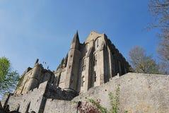 Mont Saint-Michel`. Mont Saint-Michel, Normandy, France Royalty Free Stock Image