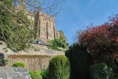 Mont Saint-Michel`. Mont Saint-Michel, Normandy, France Royalty Free Stock Photos