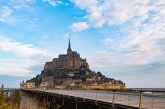 Mont Saint-Michel, Normandy, France. stock images