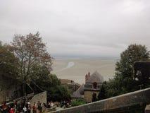 Mont Saint-Michel Castle, Normandy, France Stock Photos
