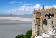 Mont Saint-Michel Normandy, Francia Imágenes de archivo libres de regalías