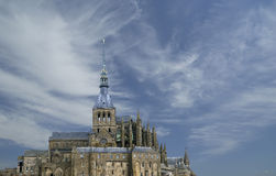 Mont saint-michel, Normandy, Francja Obrazy Stock
