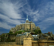 Mont saint-michel, Normandy, Francja Obraz Stock