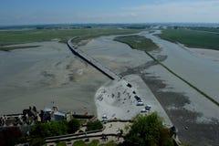Mont Saint-Michel - Normandy stock photos