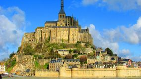 Mont Saint Michel. One of France's most visited place Royalty Free Stock Photos