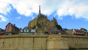 Mont Saint Michel. One of France's most visited place Stock Image