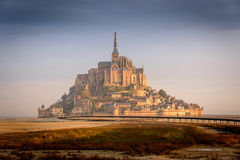Mont saint michel. In the south of France stock photo
