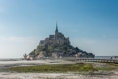 Mont Saint Michel tidal island Royalty Free Stock Photo