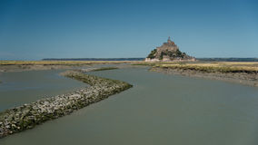 Mont saint Michel Stock Image