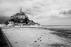 Mont Saint Michelabtei stockfoto