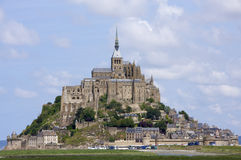 Mont Saint Michele Royalty Free Stock Photos