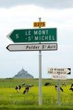 Mont Saint Michele Royalty Free Stock Photos