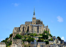 Mont Saint Michele Stock Photo