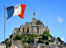Mont Saint Michele Royalty Free Stock Photography