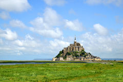 Mont Saint Michele Stock Photos