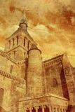 Mont Saint-Mishel Abbey Royalty Free Stock Images