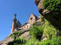 Mont Saint Odile Royalty Free Stock Images