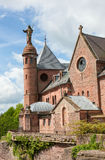 Mont Saint-Odile in the Vosges mountains in Alsace, France Stock Photography
