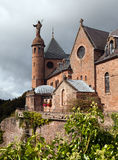 Mont Sainte Odile abbey Stock Images