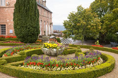 Mont Sainte-Odile abbey in France Stock Images