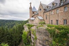 Mont Sainte-Odile Abbey, Francia Fotografía de archivo