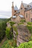 Mont Sainte-Odile Abbey, Francia Fotos de archivo
