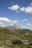 Mont Sainte Victoire Провансаль, Франция Стоковые Изображения RF