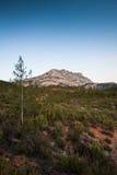 Mont Sainte Victoire em Provence Imagem de Stock Royalty Free