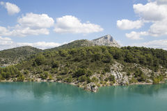 Mont Sainte Victoire, Provence, France Stock Photography