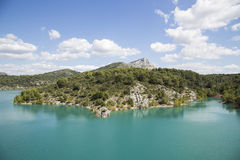 Mont Sainte Victoire Provence, France Stock Photography