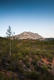 Mont Sainte Victoire in Provence Royalty Free Stock Image