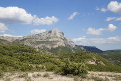 Mont Sainte Victoire Provence, Francja Obraz Royalty Free
