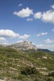 Mont Sainte Victoire Provence Frankrike Royaltyfria Bilder