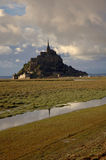 Mont san michel Stock Images