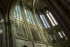 Mont-San-Michel Fotografia Stock