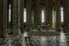 Mont-San-Michel Fotografia Stock Libera da Diritti