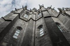 Mont-San-Michel Fotografie Stock Libere da Diritti